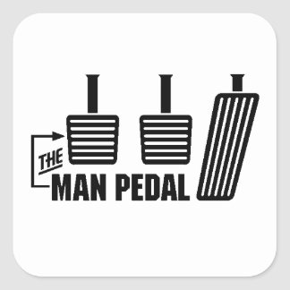 The Man Pedal Sticker