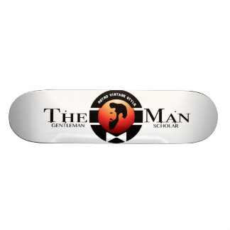THE MAN SKATEBOARD