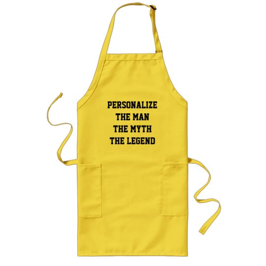 The man the myth the legend BBQ aprons