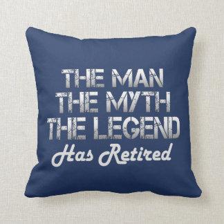THE MAN - THE MYTH - THE LEGEND CUSHION