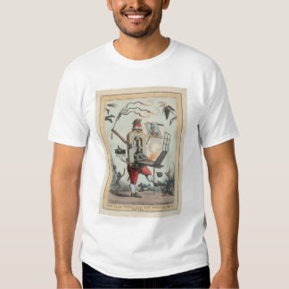 The Man Wots Got the Whip Hand of 'Em All (1297) T-shirts