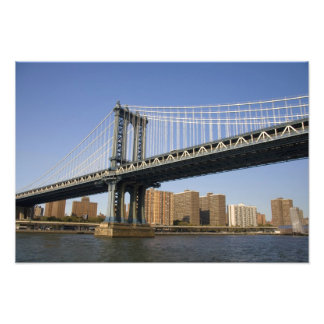 The Manhattan Bridge spanning the East River 2 Photographic Print