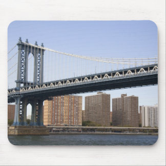 The Manhattan Bridge spanning the East River Mouse Pad