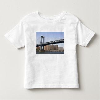 The Manhattan Bridge spanning the East River Toddler T-Shirt
