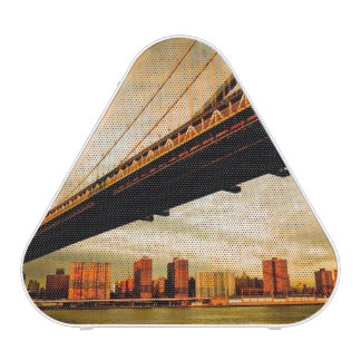 The Manhattan bridge view from Brooklyn side (NYC)