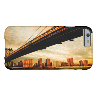 The Manhattan bridge view from Brooklyn side (NYC) Barely There iPhone 6 Case