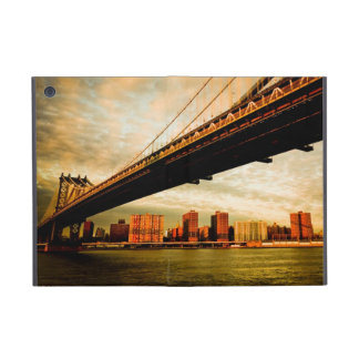 The Manhattan bridge view from Brooklyn side (NYC) Covers For iPad Mini