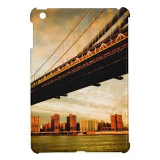 The Manhattan bridge view from Brooklyn side (NYC) iPad Mini Covers