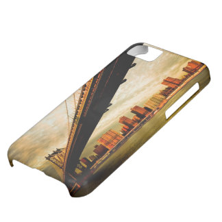 The Manhattan bridge view from Brooklyn side (NYC) iPhone 5C Case