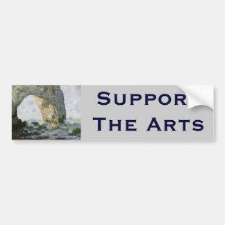 The Manneporte by Claude Monet Car Bumper Sticker