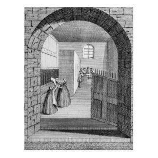 The Manner of John Shepherd's escape Postcard