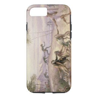 The Manners and Customs of Monkeys iPhone 8/7 Case