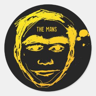 The Mans Logo Large Sticker
