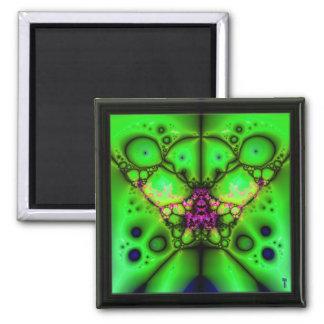 The Many Eyes of Izzaac V 5  Square Magnet