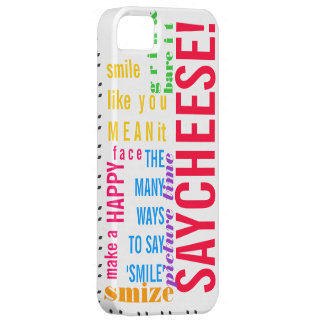 """The Many Ways to Say """"Smile!"""" Barely There iPhone 5 Case"""