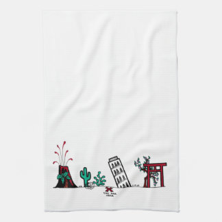 The Map towel