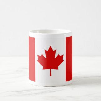 The Maple Leaf flag of Canada Coffee Mug