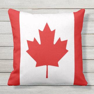The Maple Leaf flag of Canada Cushion