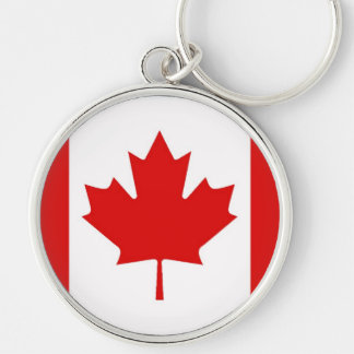 The Maple Leaf flag of Canada Key Ring