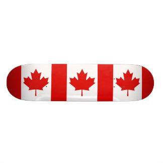 The Maple Leaf flag of Canada Skateboard Deck