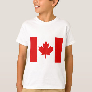 The Maple Leaf flag of Canada T-Shirt