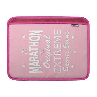 The MARATHON, the original extreme sports event MacBook Sleeve