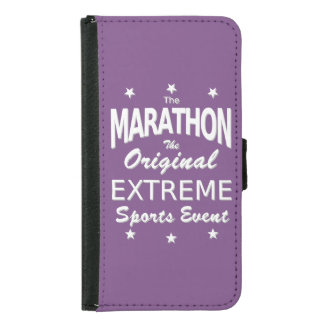 The MARATHON, the original extreme sports event Samsung Galaxy S5 Wallet Case