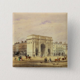 The Marble Arch 15 Cm Square Badge