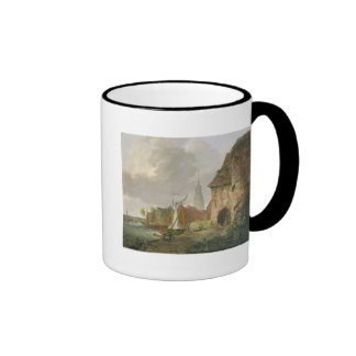 The March Gate in Buxtehude, 1830 Coffee Mugs