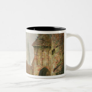 The March Gate in Buxtehude, 1830 Two-Tone Coffee Mug