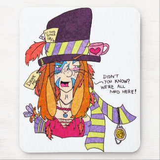The March Hare's Tea Party Mouse Pad