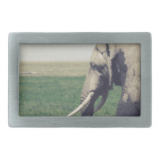 The March of a Elephant Belt Buckle