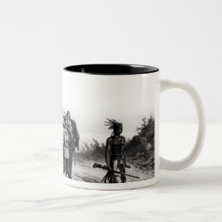 The March of Miles Standish Two-Tone Coffee Mug