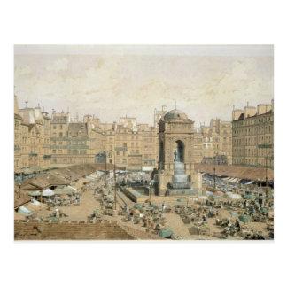 The Marche aux Innocents Postcard