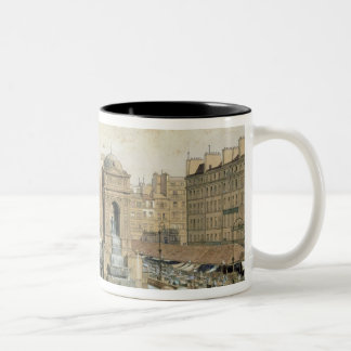 The Marche aux Innocents Two-Tone Coffee Mug