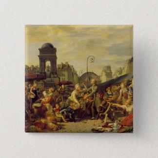 The Marche des Innocents, c.1814 15 Cm Square Badge