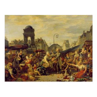 The Marche des Innocents, c.1814 Postcard
