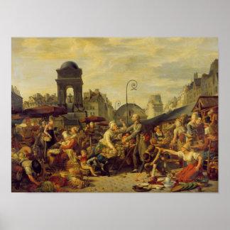 The Marche des Innocents, c.1814 Poster