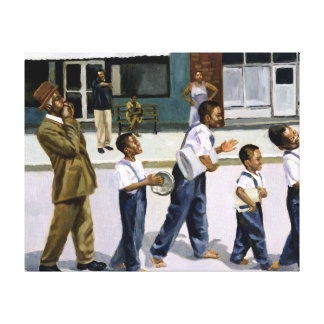 The Marching Band 2000 Canvas Print