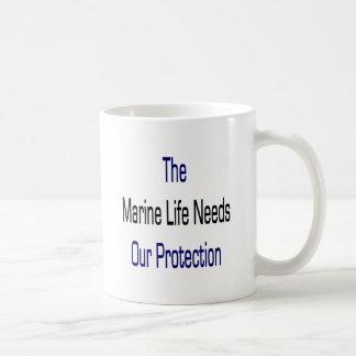 The Marine Life Needs Our Protection Mug