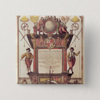 The Mariners Mirror, titlepage 15 Cm Square Badge