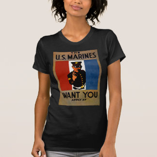 The Marines Want You T-Shirt