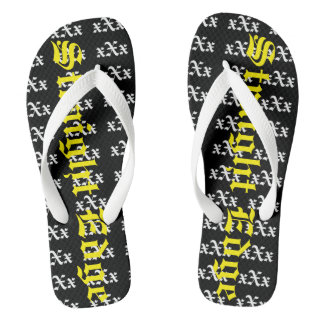 The Mark Ma$h xXx Collection Flip Flops