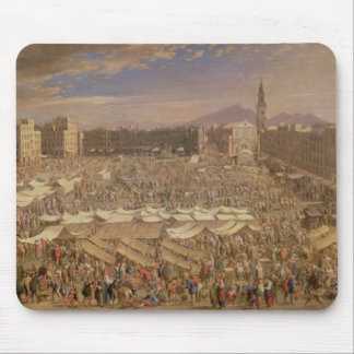 The Market at Naples Mouse Mat