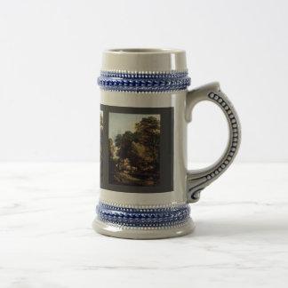 The Market Carts By Thomas Gainsborough Coffee Mug