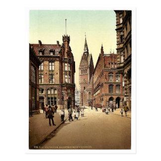 The Market Church, Hanover, Hanover, Germany magni Postcard