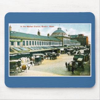 The Market District, Boston, Massachusetts Mouse Pad