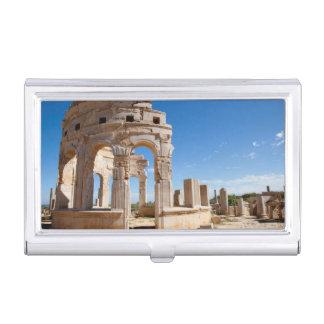 The Market, Leptis Magna, Al Khums District Business Card Holder
