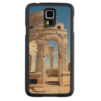The Market, Leptis Magna, Al Khums District Carved Maple Galaxy S5 Case