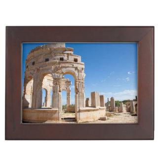 The Market, Leptis Magna, Al Khums District Keepsake Box